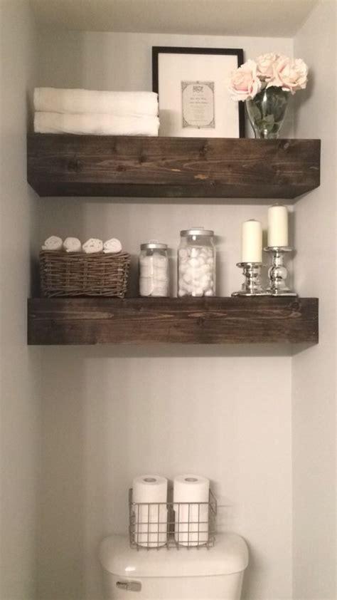decorating ideas for bathroom shelves best 25 floating shelves bathroom ideas on