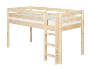 flexa classic mid sleeper bunk bed ebay