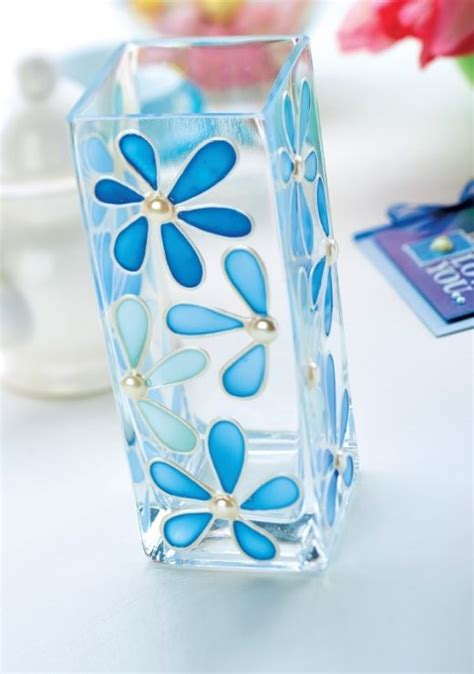 glass painting flower vase 25 best ideas about glass painting designs on