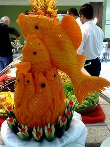 vegetable carving | Amazing Food Carving | Pinterest