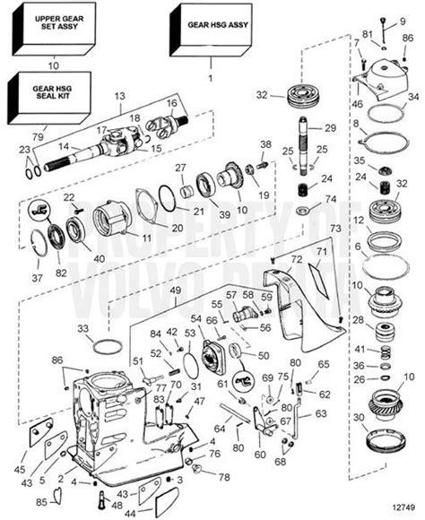 volvo penta sx parts diagram automotive parts diagram
