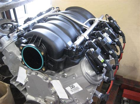 ls    motor  dry sump system miles