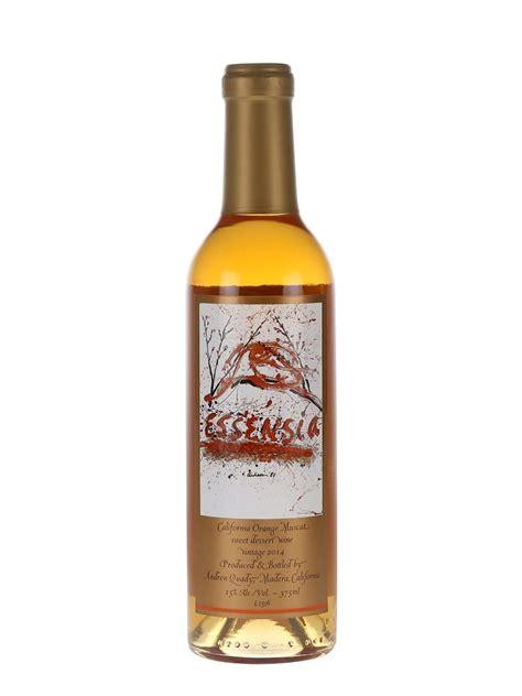 orange muscat dessert wine essensia orange muscat 2014 quady the whisky exchange