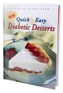 and easy diabetic desserts color cookbook