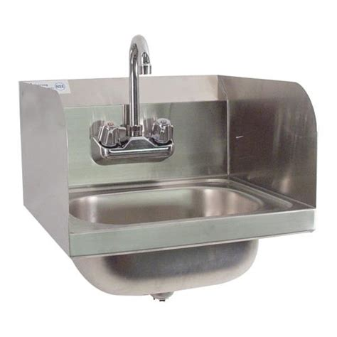 Splash Guard Kitchen Sink by Commercial Wall Mount Sink W Splash Guards Etundra