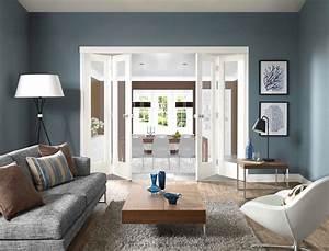 Grau Blaue Wand : blau graue wand ~ Watch28wear.com Haus und Dekorationen
