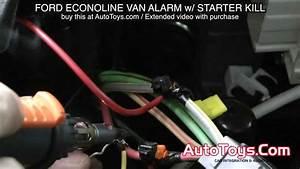 Ford Van Alarm System With Starter Kill Econoline E Van