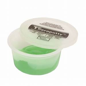 Theraputty Exercise Putty, Green, 2 Ounce - 10-0902 ...