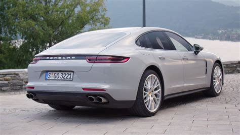 porsche panamera 2017 white 2017 porsche panamera turbo detailed in a trio of colors