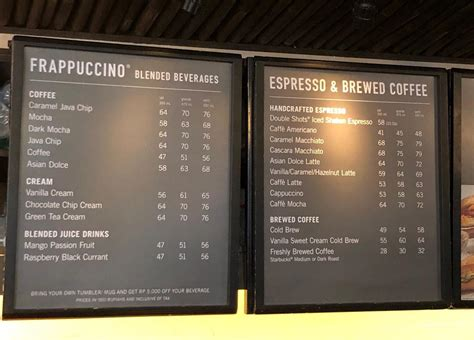 One of the most iconic japanese starbucks menu items, the sakura blossom latte is inspired by the famous cherry blossoms that bloom each spring. Starbucks - Legian Menu, Updated Menu for Starbucks - Legian, Legian, Badung - Traveloka Eats