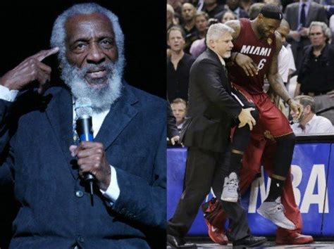 comedian icon dick gregory believes  lebron james