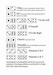 Three Man Dice Drinking Game Rules And How To Play