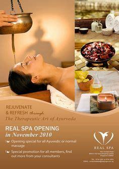 beauty spa  massage flyer template business flyers