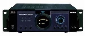 Pyle P3001at 3000w Hybrid Pre Amplifier With Am  Fm Tuner