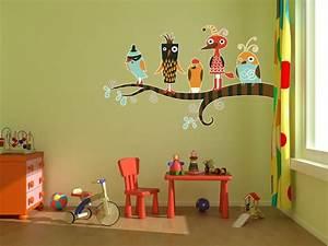 Kreative Ideen Fürs Kinderzimmer : 30 kreative ideen f r kinderzimmer themendekoration mit v geln ~ Sanjose-hotels-ca.com Haus und Dekorationen