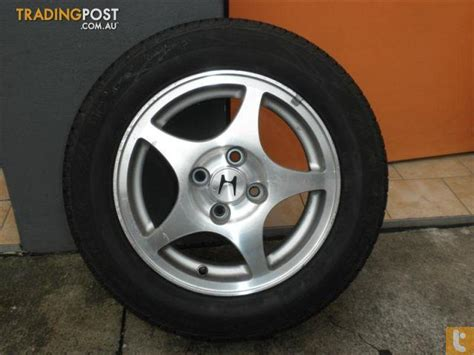 honda civic 14 inch genuine alloy wheels