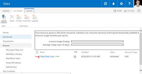 turn on sharepoint online site templates create new site from custom web template in office 365