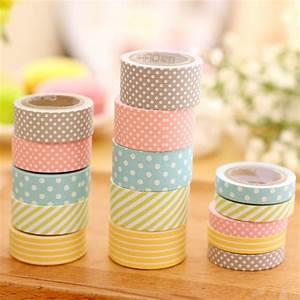 Cute Pattern Paper Washi Tape 5 Pack Kawaii Pen Shop