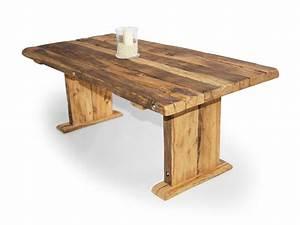 Rustikale Esstische Holz : wikinger kulissentisch massivholzesstisch asteiche 180 x 100 cm unbehandelt ~ Indierocktalk.com Haus und Dekorationen