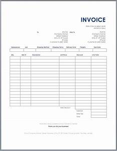 Freight invoice template ms word free invoice templates for Free trucking invoices