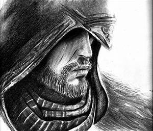 Ezio Sketch.. by Noosha77 on DeviantArt