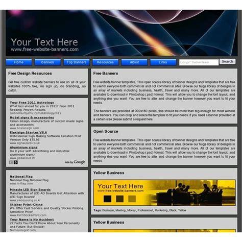 Website Page Header