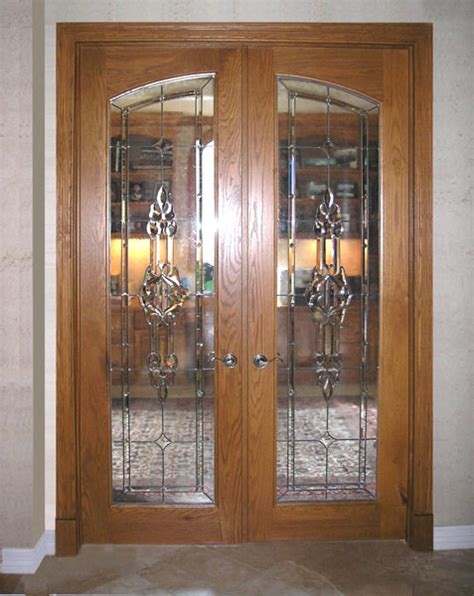 Stained Glass Interior French Doors » Design And Ideas
