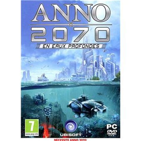 Anno 2070  En Eaux Profondes Sur Pc  Jeux Vidéo Top Prix