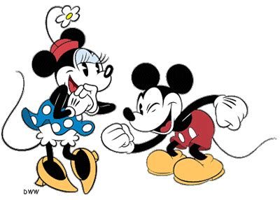 classic mickey mouse  friends clip art images