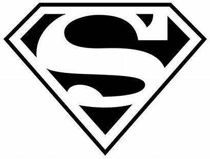 Superhero Logos Coloring Superman Pages Symbols Symbol