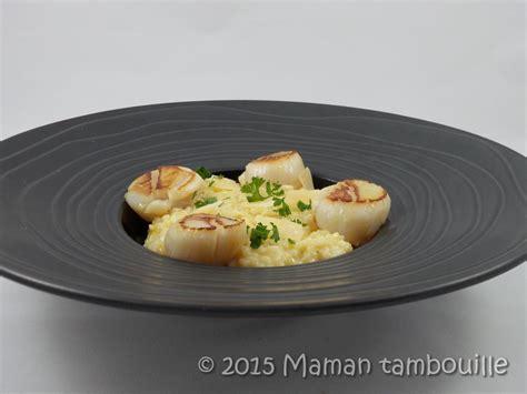 vin blanc sec cuisine risotto aux jacques à l 39 huile de truffe maman