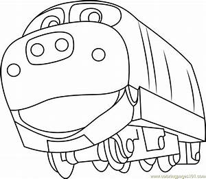 Brewster Coloring Page Free Chuggington Pages