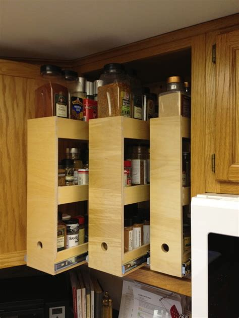 spice cabinet organizer shelf spice storage solutions seattle by shelfgenie of seattle
