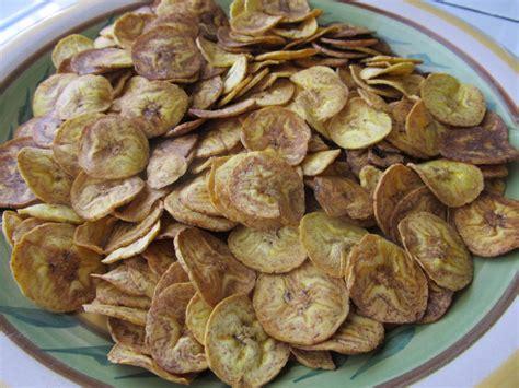 comment cuisiner les bananes plantain chips de banane plantain salées