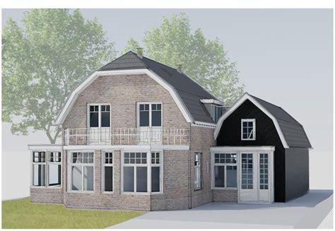bureau moderne verbouw en aanbouw klassiek huis abjz architectenbureau