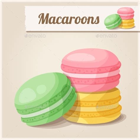 printable macaron templates   psd