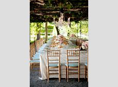{Wedding Trends} Strictly Long Tables Belle The Magazine