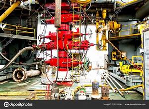 Blowout Preventer  Bop  Is A Large Valve At The Top Of A