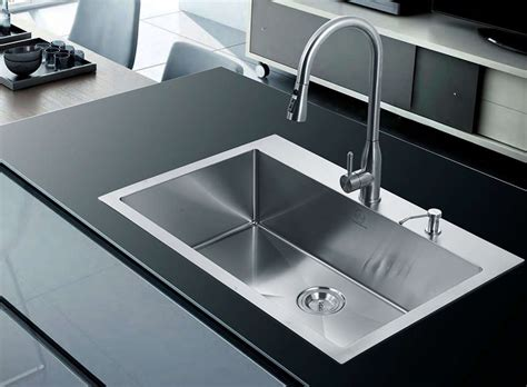 single sink for kitchen stainless steel kitchen sinks guide the kitchen 5263
