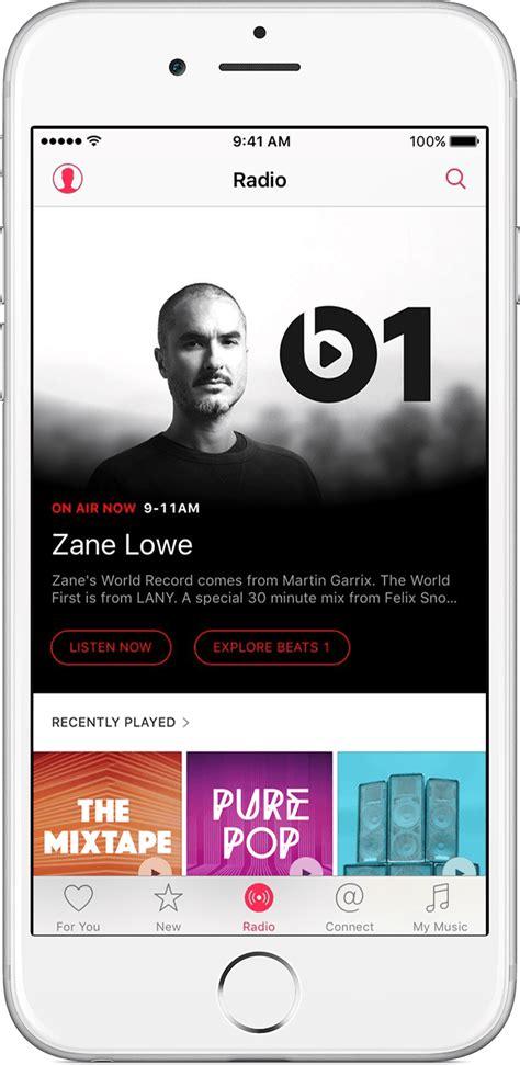 listen to radio on phone listen to apple radio apple support