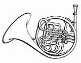 Horn French Clipart Coloring Horns Drawing Baritone Notes Musical Cliparts Instrument Instruments Drawings Psf Clipartbest Clip Draw Loud Wikimedia Library sketch template