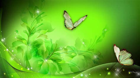greenfantasy art hd green floral fantasy wallpaper