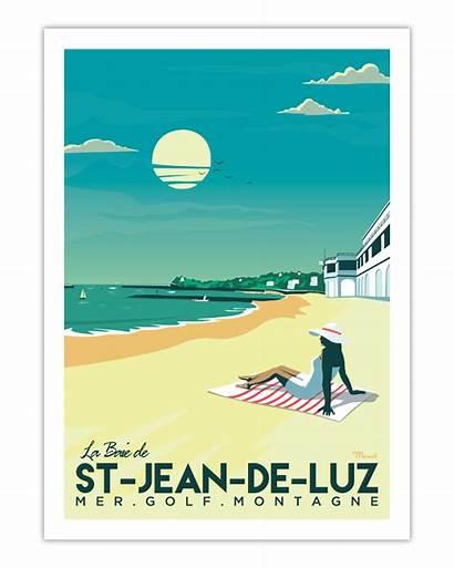Luz Poster Jean Saint Baie Marcel Affiche