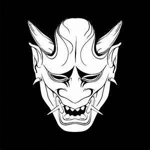 Demon Japonais Dessin : pingl par josselin stanchina sur mask tatouage dessin et illustration japonaise ~ Maxctalentgroup.com Avis de Voitures