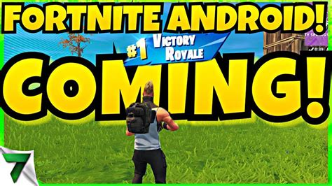 fortnite android  release date announce official