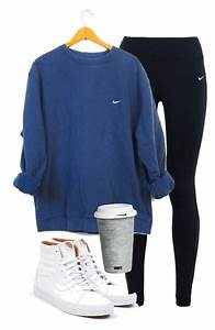 Sweater cute nike sporty comfy casual blue girl shirt long sleeves hoodie sweatshirt ...