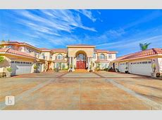 12,000 Square Foot Mediterranean Mansion In Riverside, CA