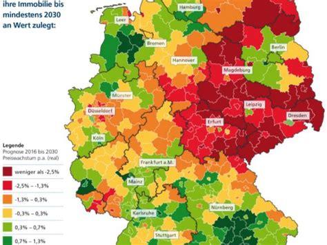 prognose bis  hier steigen die immobilienpreise
