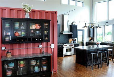 luminaire ilot central cuisine cuisine style industriel une beauté authentique