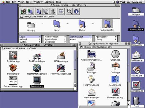 Mac Os X Server 1.0